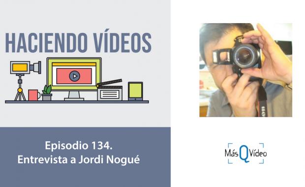 Entrevista Jordi Nogué Mas que video